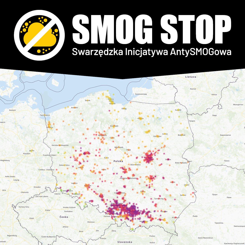 Cała Polska w SMOGu :(