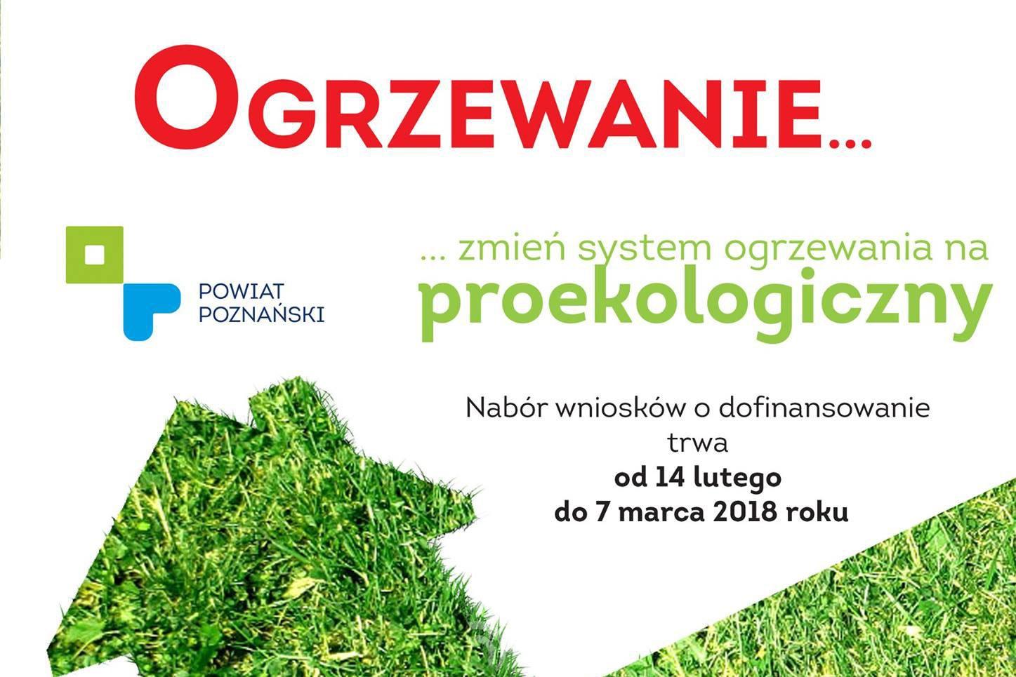 Raport z #1 edycji programu Powiatu Poznańskiego Czyste Ogrzewanie