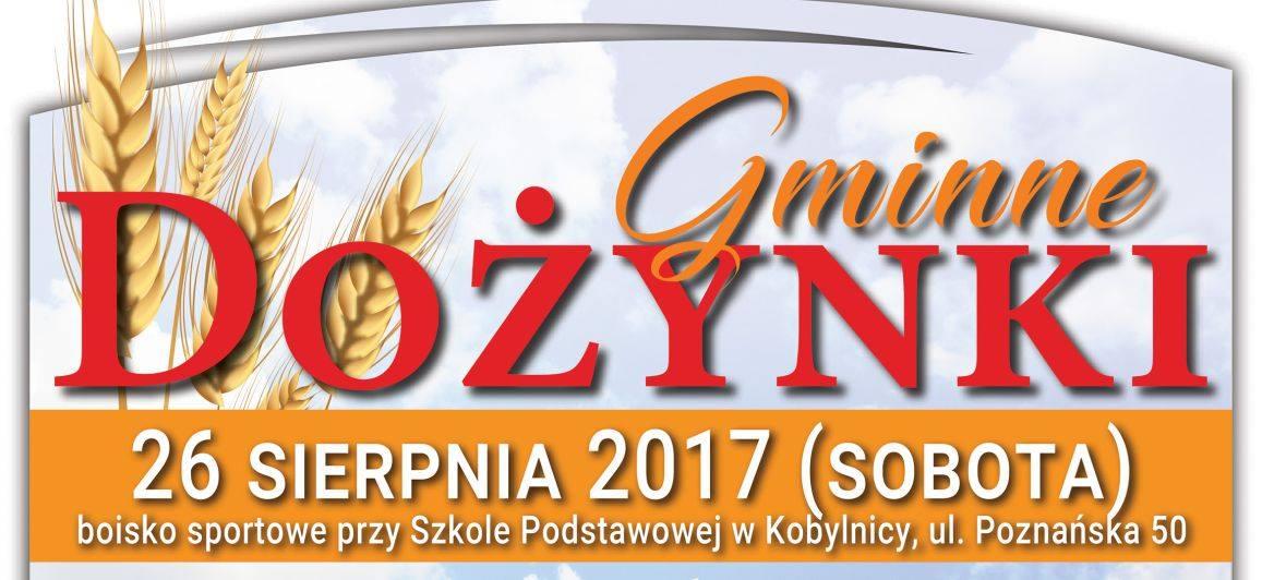 Zapraszamy na Dożynki Gminne 2017 – Kobylnica