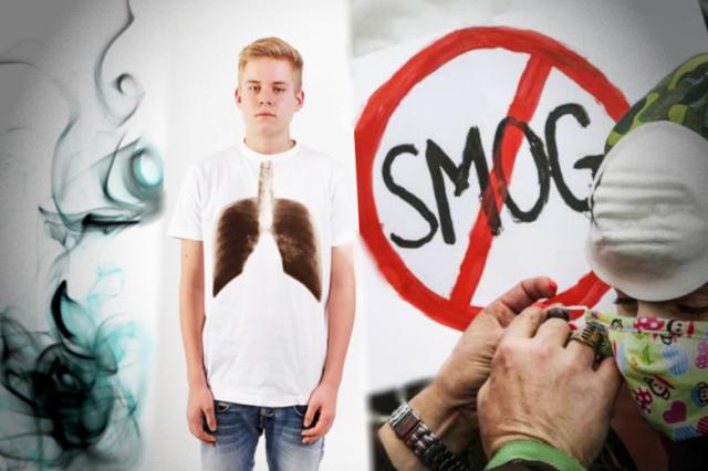 Jaki wpływ ma SMOG na zdrowie.