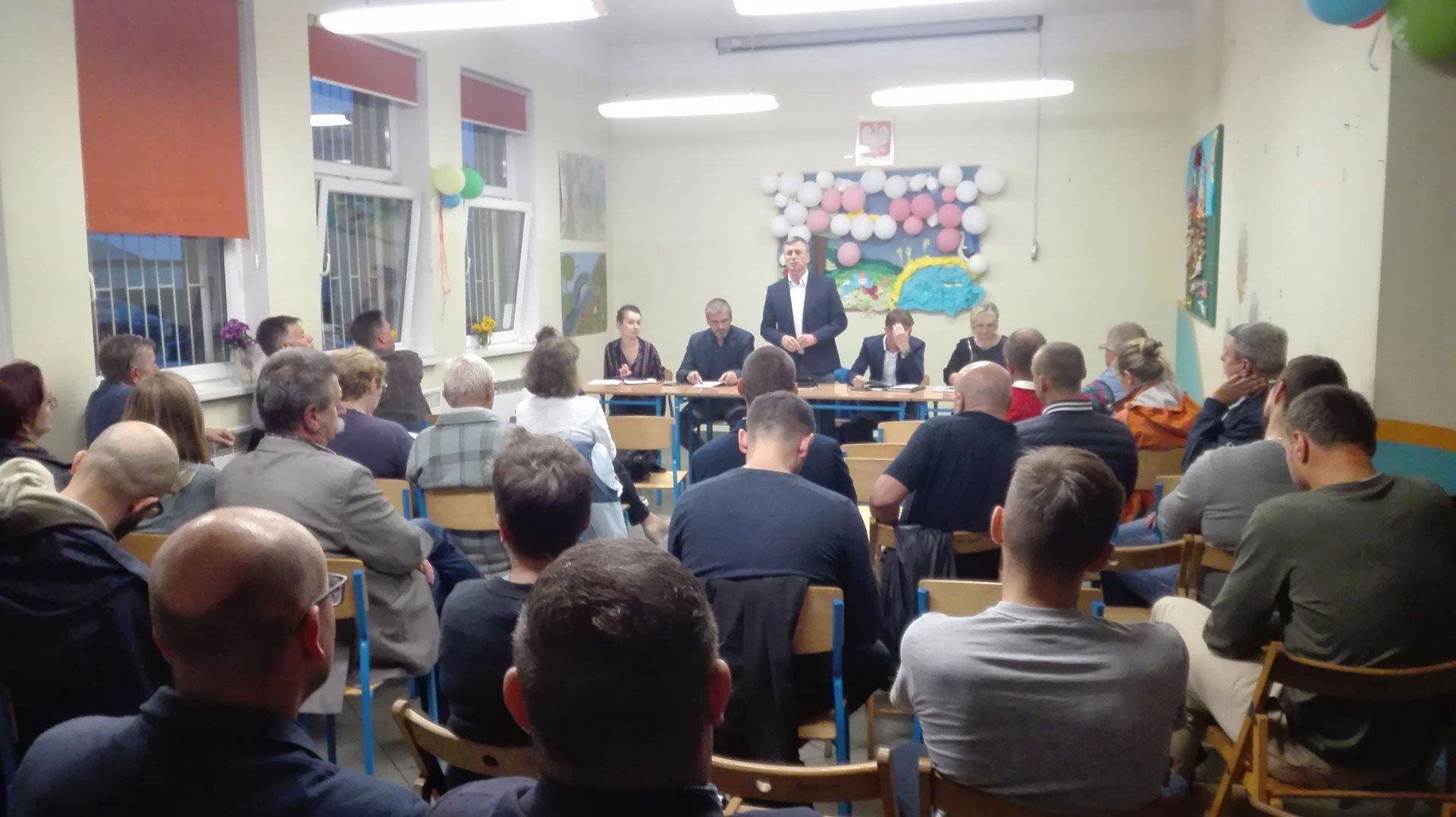 Zebranie Wiejskie w Gruszczynie 2017